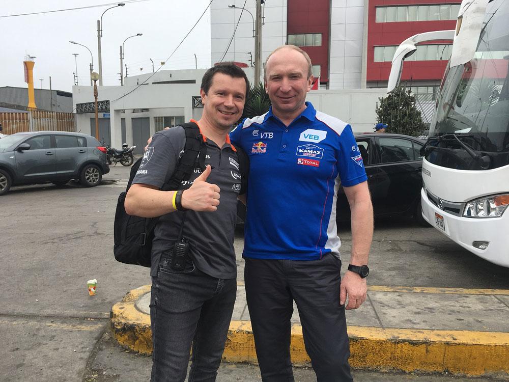Antanas Juknevičius ir Vladimiras Čaginas, Dakaras 2018