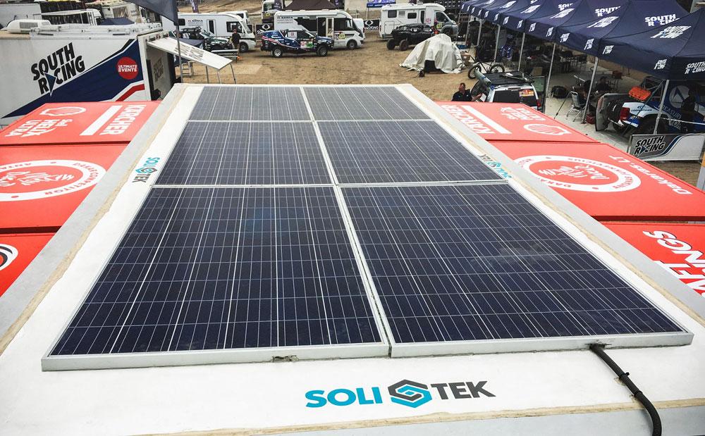 Antanas Juknevičius serviso darbams Dakare pasitelks saulės energiją