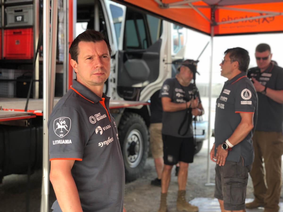 Antanas Juknevičius Dakare 2019