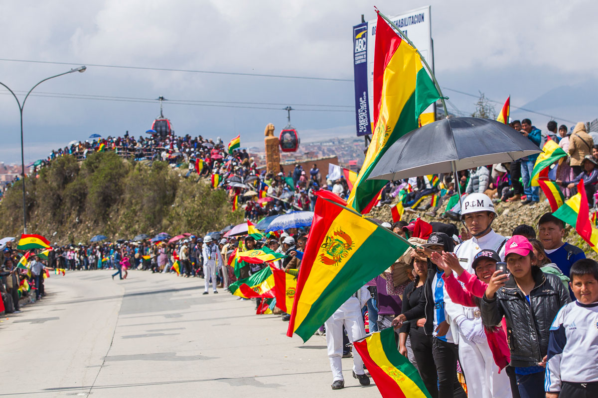 Dakaro sirgaliai Bolivijoje