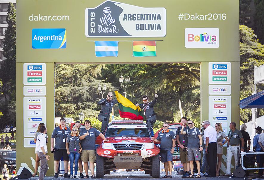 Antanas Juknevičius savo šeštą Dakaro ralį įvertino kaip naują pradžią
