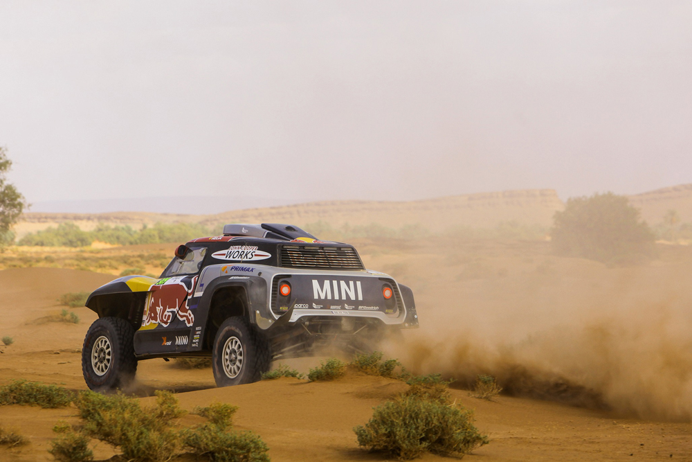 MINI X-Raid bagis Maroko ralyje