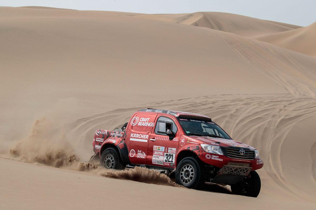 A. Juknevičiaus Toyota Hilux - Dakaras 2018