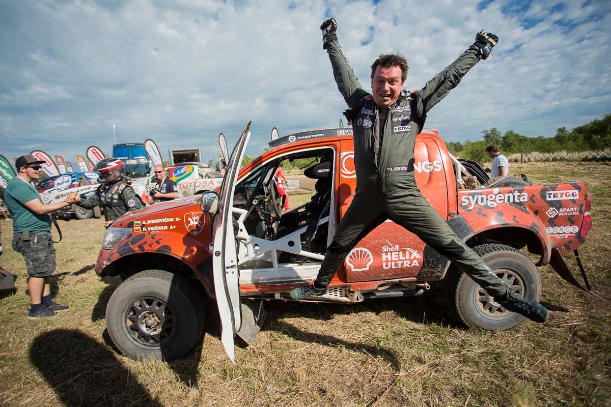 A. Juknevičius ir D. Vaičiulis pasiekė naują Dakaro rekordą