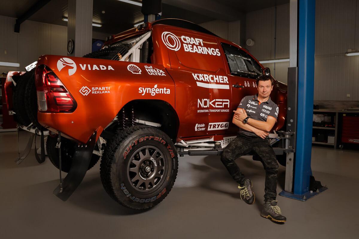 Antanas Juknevičius prieš Dakaro ralį 2019