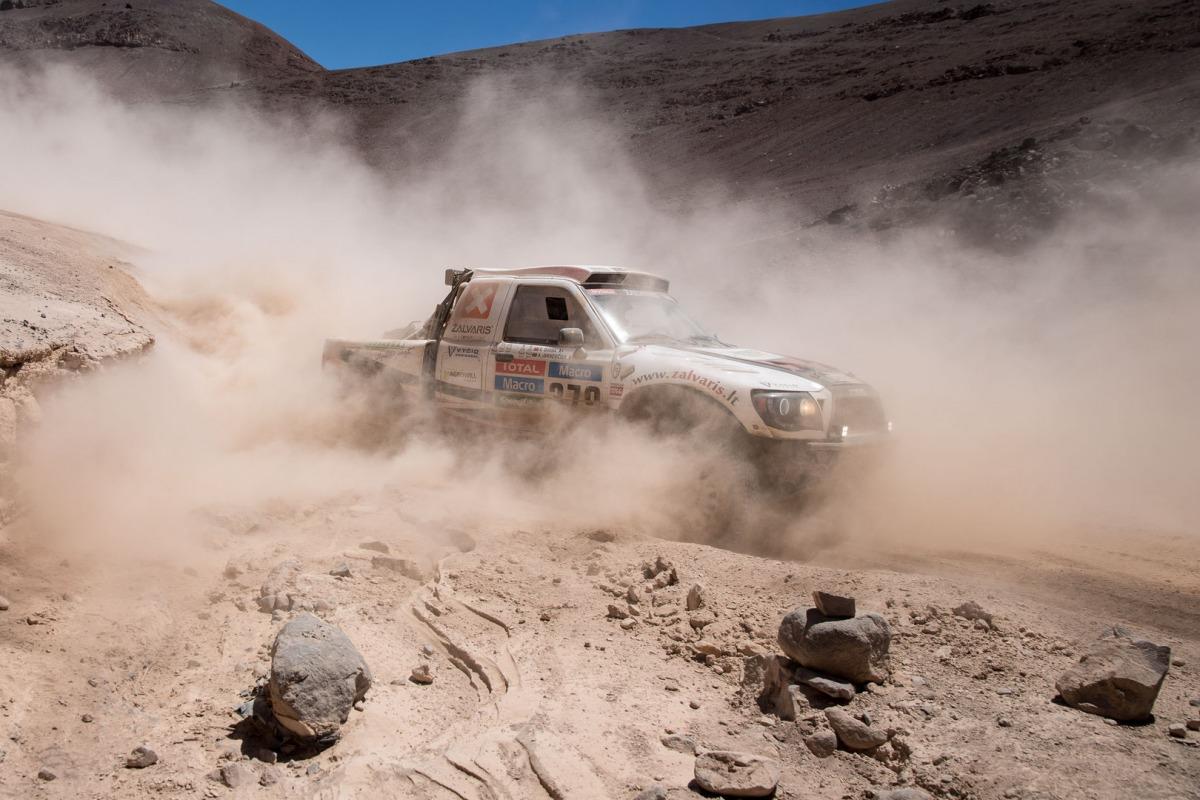 Dakaro dienoraštis 13: lietuvius vėl bandė apvogti