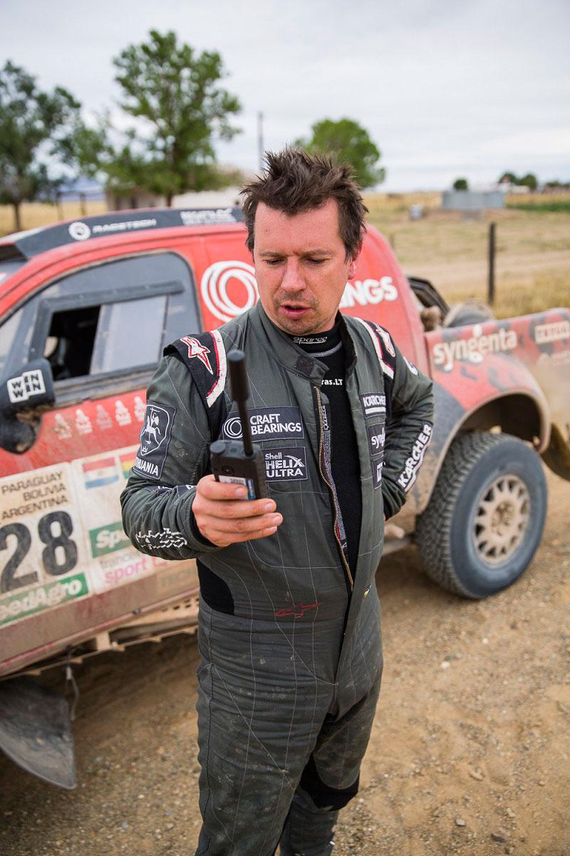 A. Juknevičius po 8-to Dakaro ralio etapo