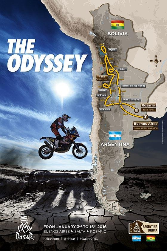 Patvirtintas naujasis Dakaro maršrutas: 2016-ųjų ralis vyks Argentinoje ir Bolivijoje