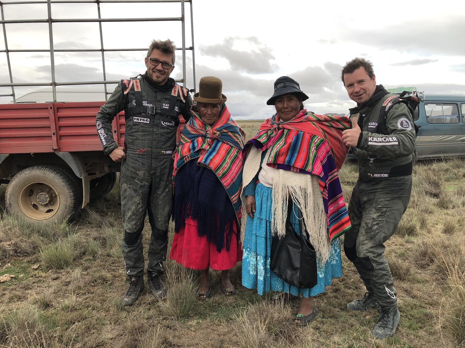 Antanas Juknevičius šešto etapo finiše Bolivijoje: šlapia, purvina ir sunki diena