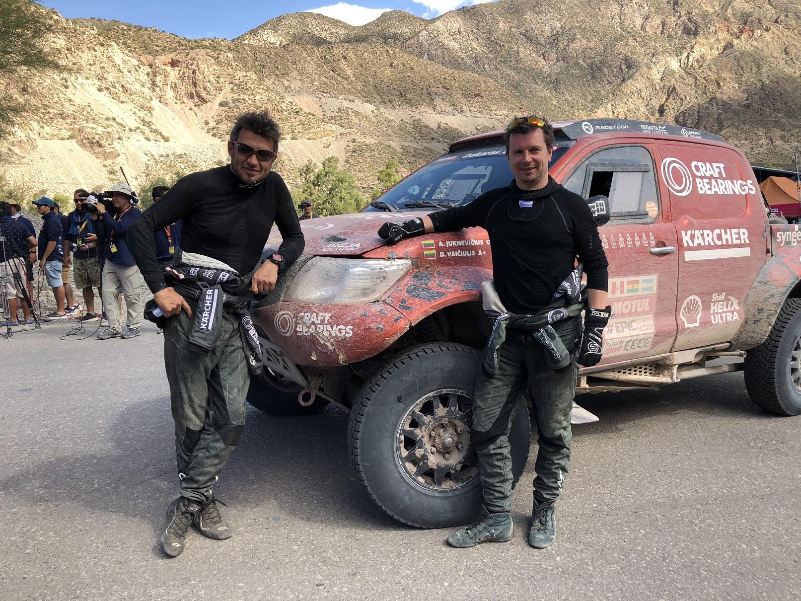 Antanas Juknevičius įvertino ilgiausią Dakaro etapą: tikra, vyriška diena
