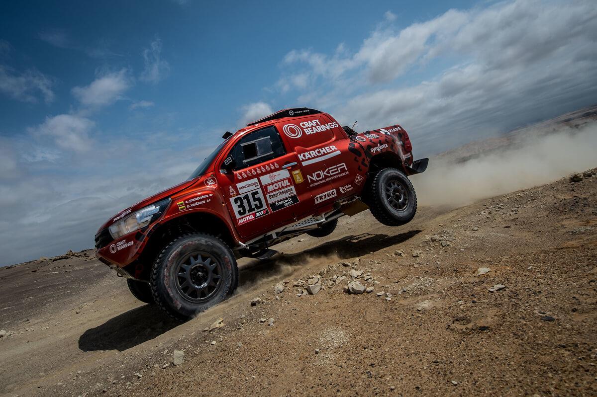 A. Juknevičiui 8-as Dakaro ralio etapas buvo rekordinis – finišavo 13-as