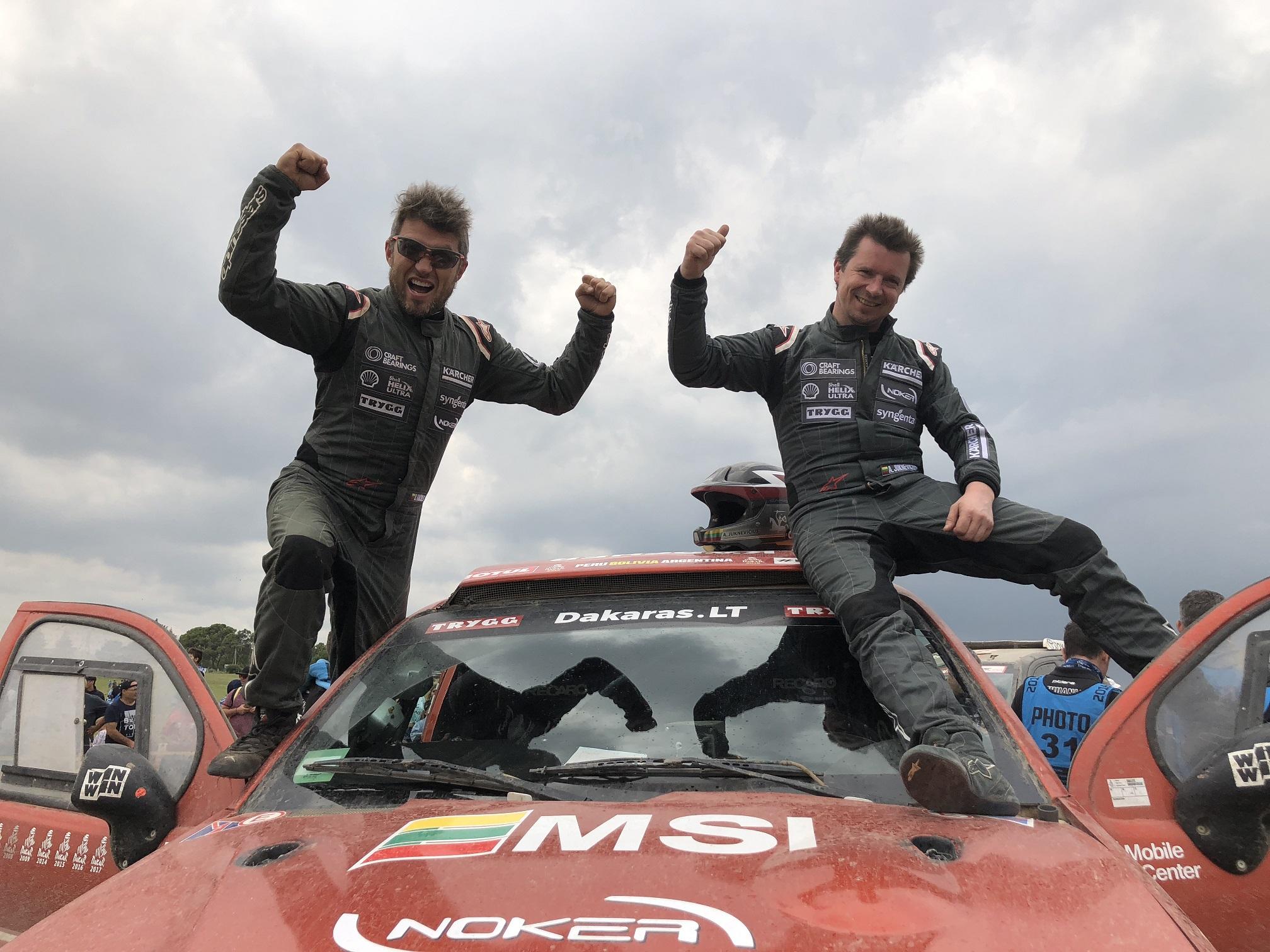 Antanas Juknevičius Lietuvai padovanojo įspūdingą Dakaro rekordą