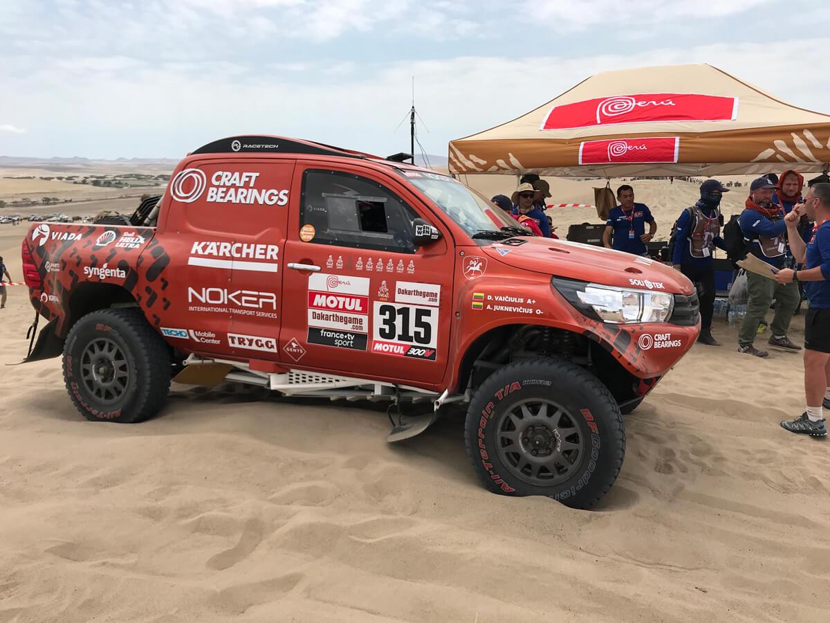 Pirmame Dakaro etape A. Juknevičius rinkosi alternatyvią strategiją