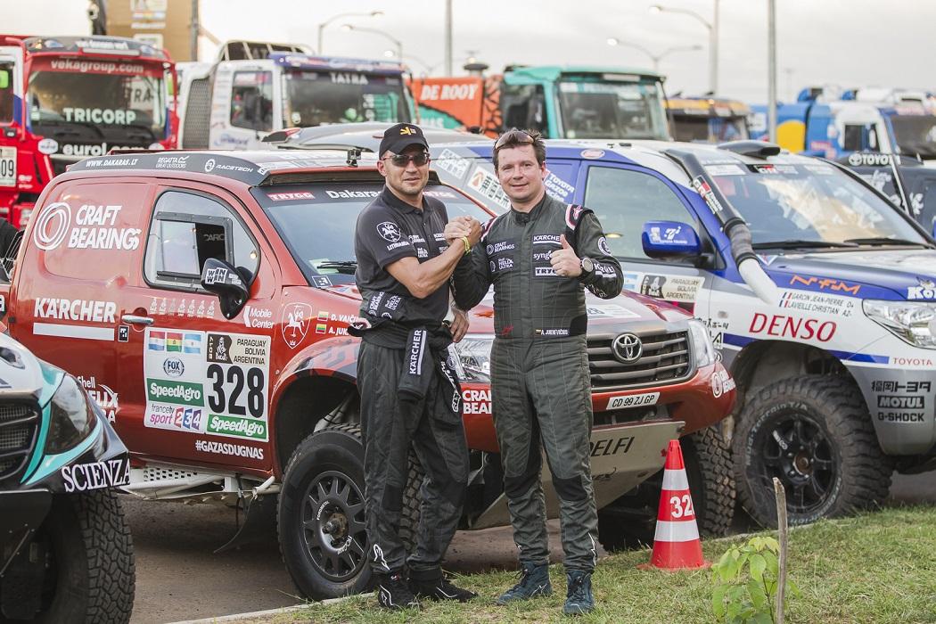 Antanas Juknevičius atskleidė šturmaną ir pasidalino mintimis apie 2018-ųjų Dakaro trasą