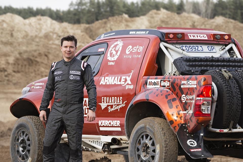 Už puikų pasiruošimą Dakaro organizatorių įvertinta Antano Juknevičiaus komanda