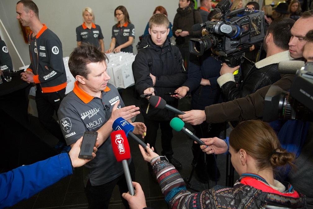 Antanas Juknevičius išlydėtas jau į 6-ąjį Dakaro ralį