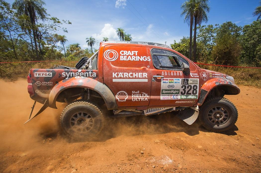 Pasigrožėkite: Dakaro ralio etapo Paragvajuje vaizdai