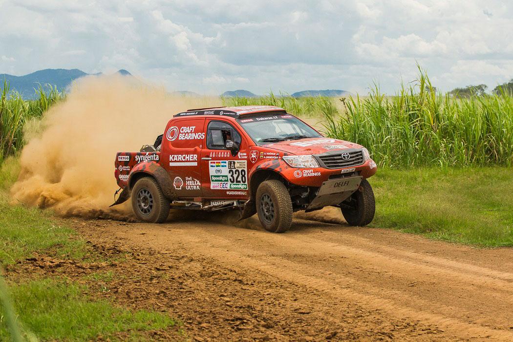 Pamatykite iš arti: Dakaro bolido testai kovinėmis sąlygomis