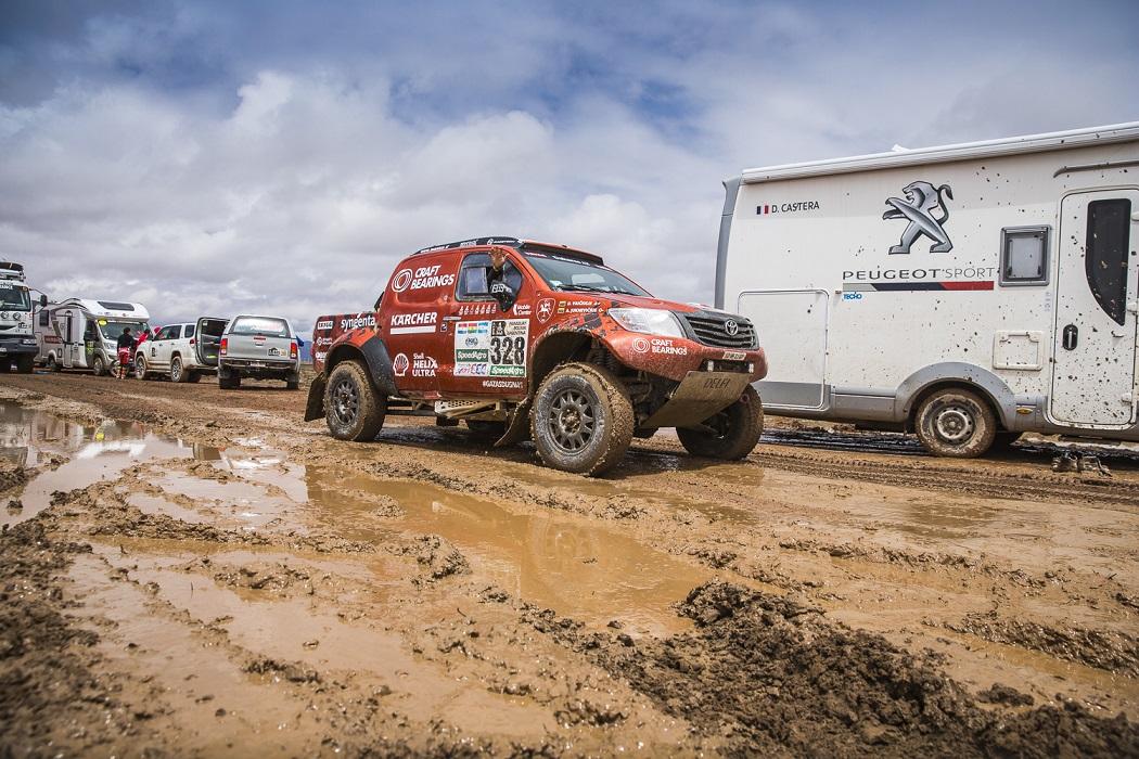 Lietus skandina Dakaro ralį: sutrumpinta ir pirmadienio maratoninė diena