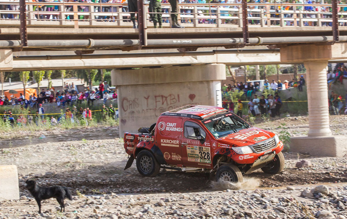 Viename sunkiausių 2017-ųjų Dakaro etapų A. Juknevičius finišavo 21-as