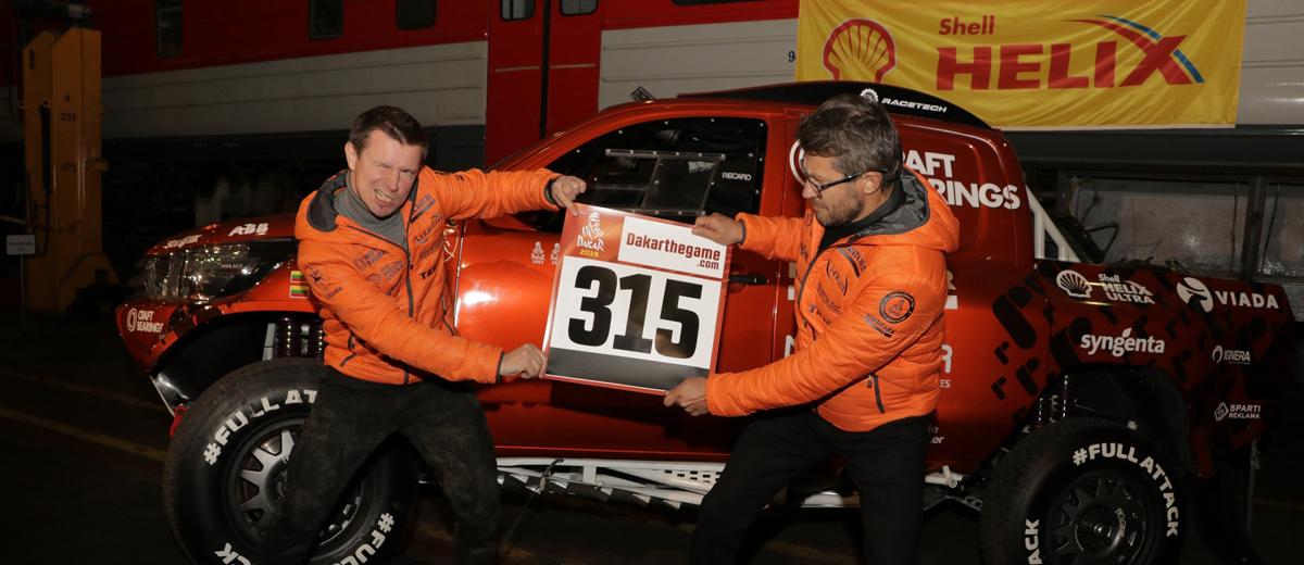 TOP-15 Dakare startuosiantis A. Juknevičius: išsiskirsime ir tarp milijoninių komandų