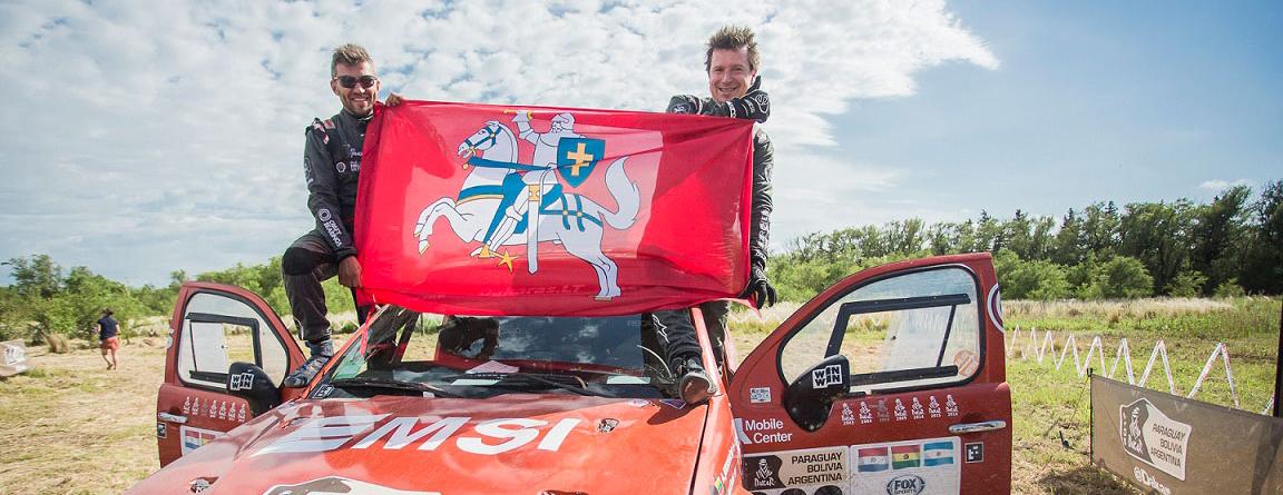 Antanas Juknevičius pasiekė geriausią visų laikų Baltijos šalių sportininkų rezultatą Dakaro raliuose