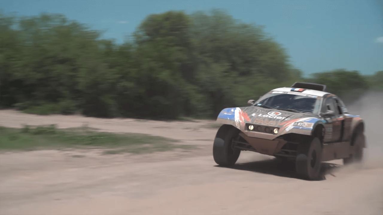 2017-ųjų Dakaro ralis. A. Juknevičius antrajame etape vertėsi tik su trimis bėgiais