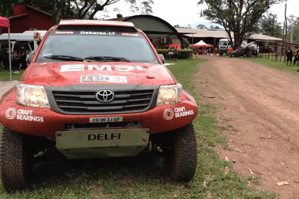 2017-ųjų Dakaro ralis. Automobilio bandymų sesija.