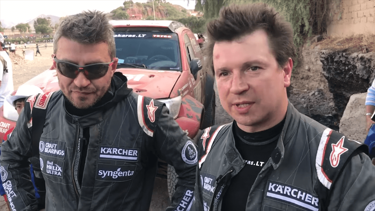 """2017-ųjų Dakaro ralis. """"CRAFT Bearings"""" komandos Įspūdžiai po 4-to greičio ruožo"""