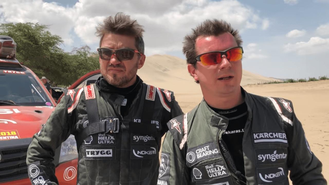 2018-ųjų Dakaro ralis. A. Juknevičiaus komentarai po 3-ojo Dakaro ralio etapo