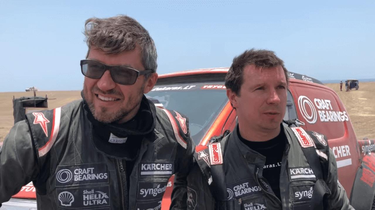 2018-ųjų Dakaro ralis. A. Juknevičius penktąją dieną finišą pasiekė 17-oje vietoje