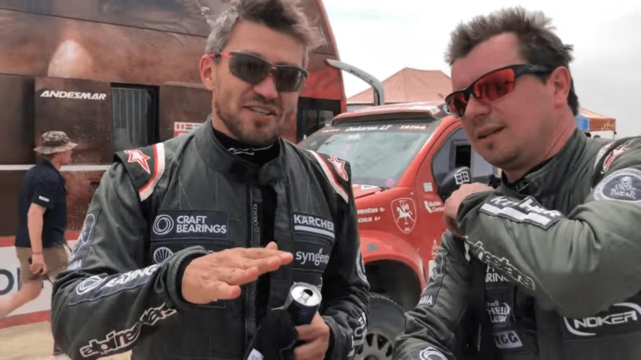 2018-ųjų Dakaro ralis. Antrąją ralio dieną Juknevičius įšoko į TOP-20
