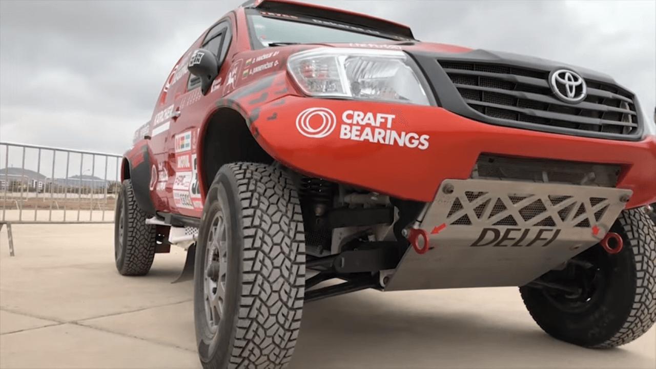 """2018-ųjų Dakaro ralis. """"CRAFT Bearings"""" komanda išbandė starto podiumą"""