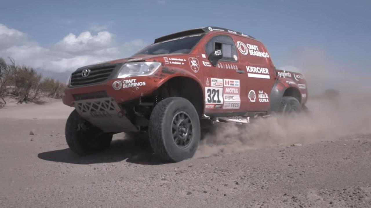 Craft Bearings Team Dakar Rally 2018 flashback | Antanas Juknevicius