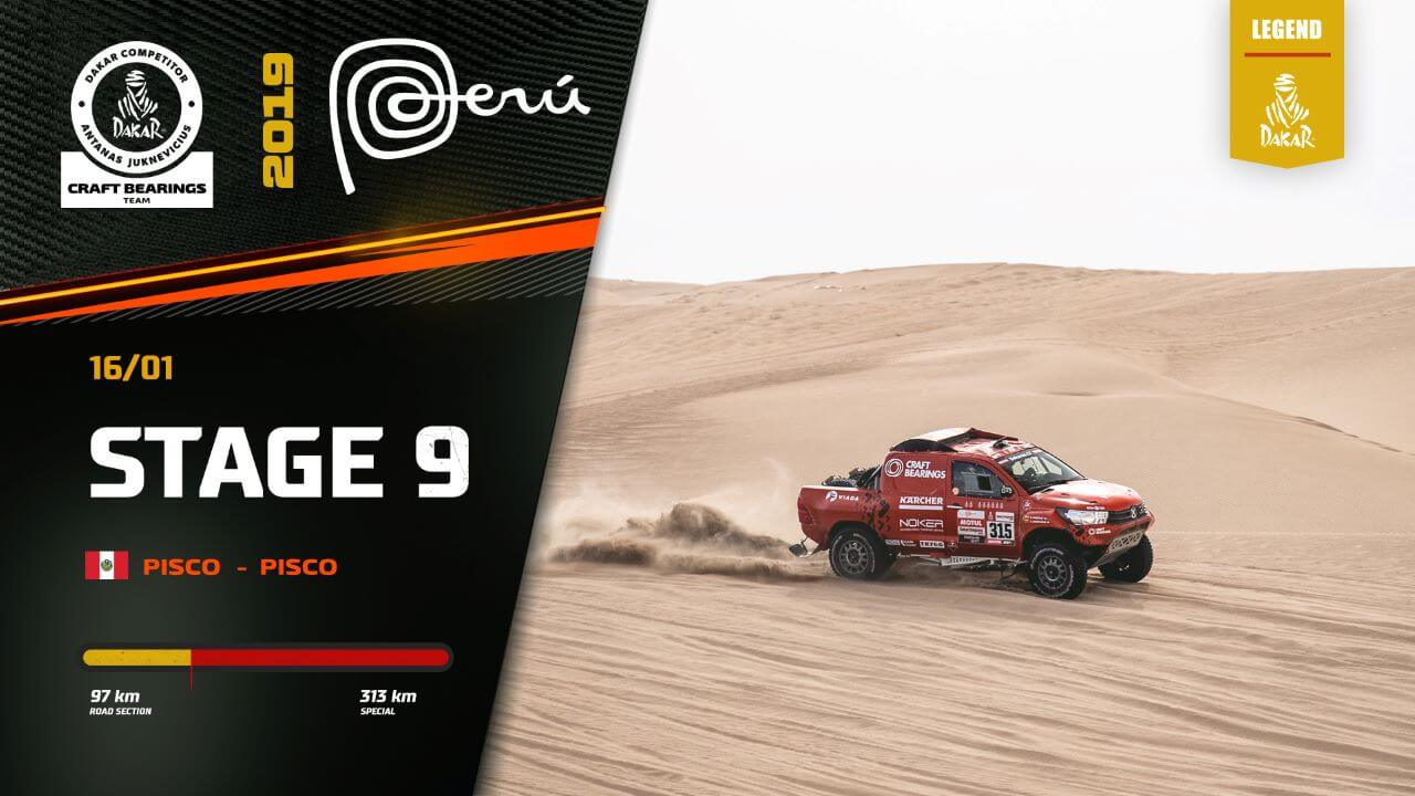 Dakar Rally 2019. Antanas Juknevicius Stage 9 Highlights