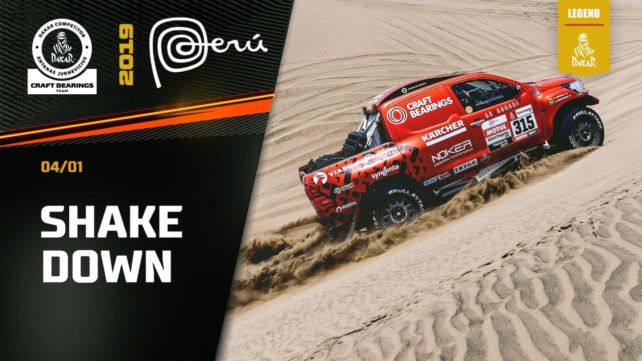Dakar Rally 2019. Shakedown Session