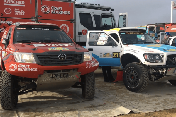"""FIA """"Cross-Country"""" pasaulio čempionatas Kazachstane - 1 etapas"""