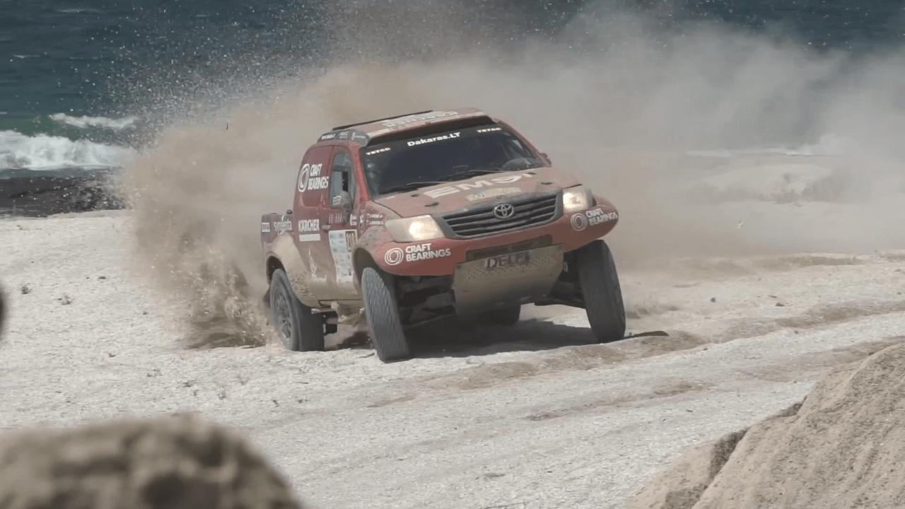"""FIA """"Cross-Country"""" pasaulio čempionatas Kazachstane - 3 etapas"""