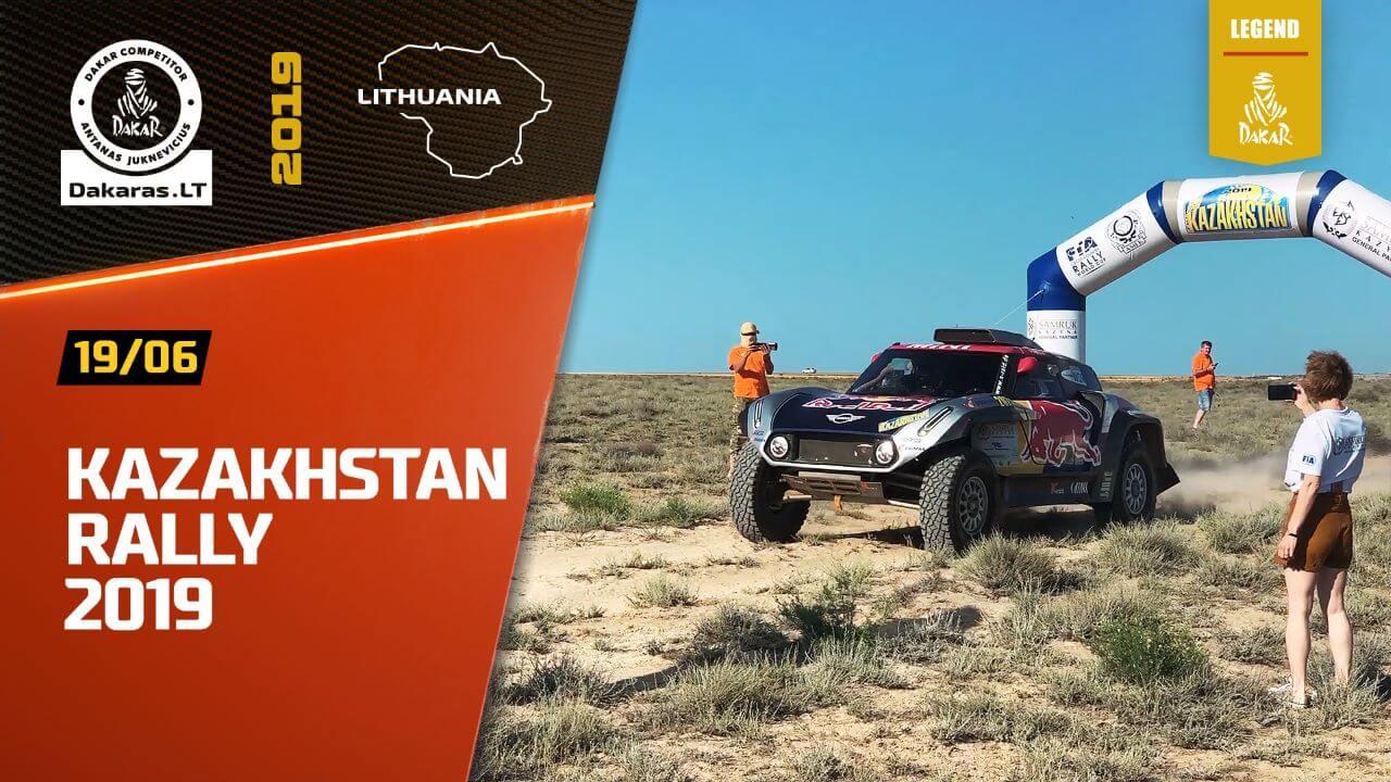 Road to Dakar 2020. Rally Kazakhstan as a FIA Officer
