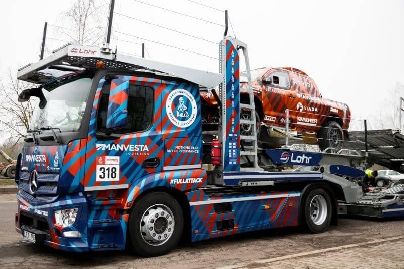 A. Juknevičiaus safario konvojus pajudėjo Prancūzijos ir Dakaro link
