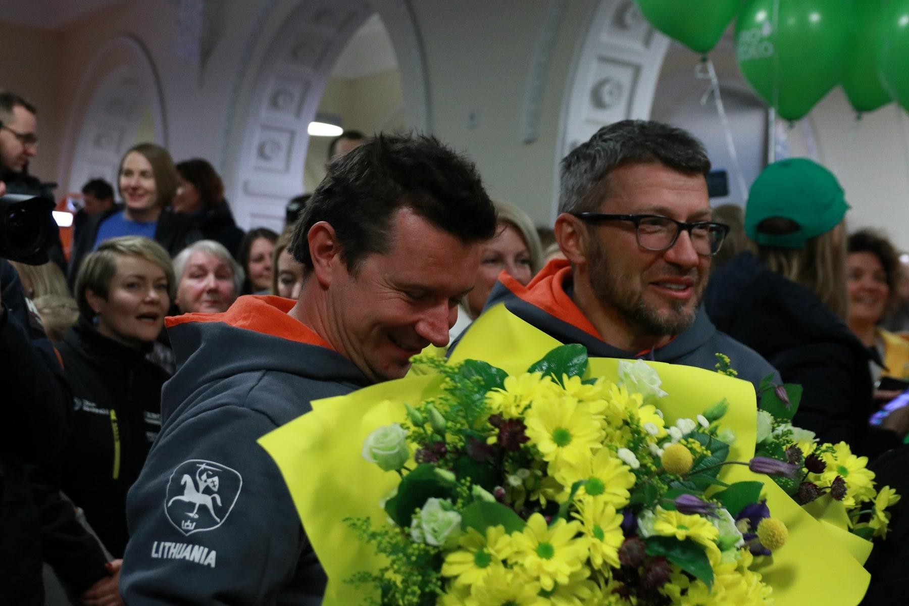 Iš Dakaro grįžęs Antanas Juknevičius: fanai – penktasis mūsų ratas