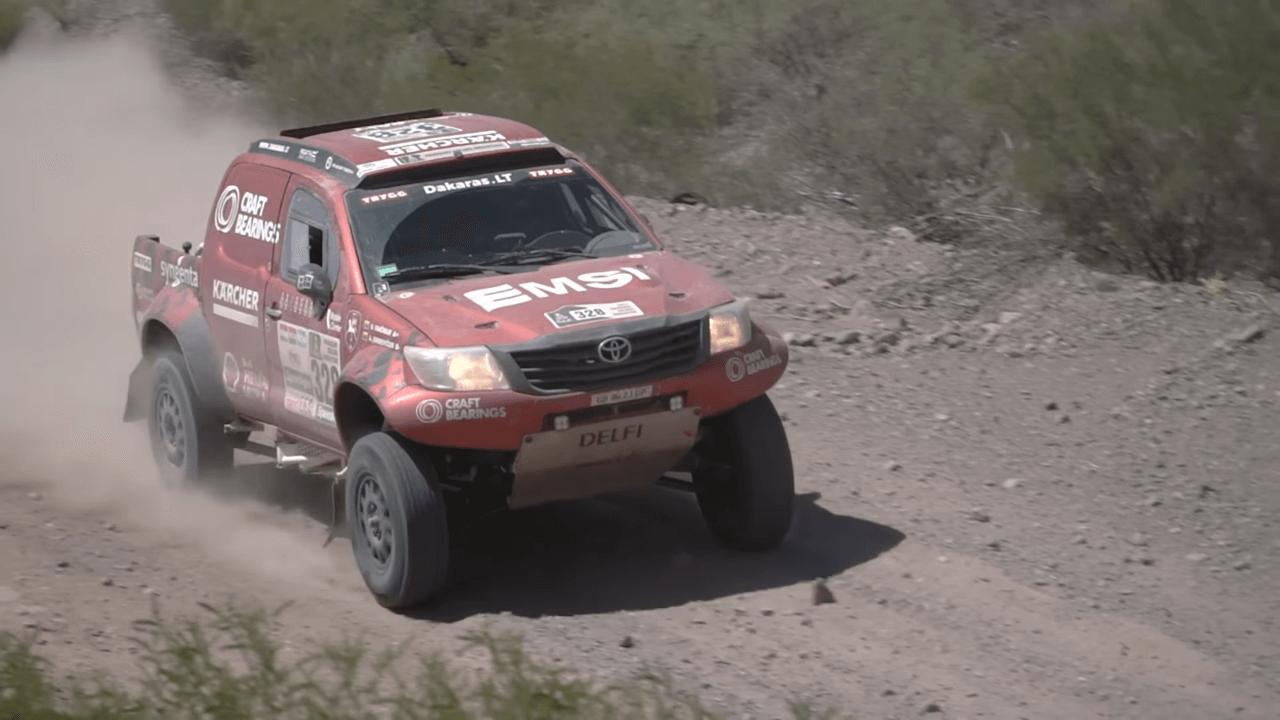 2017-ųjų Dakaro ralis. A.Juknevičiaus komentarai po 10-to Dakaro ralio etapo