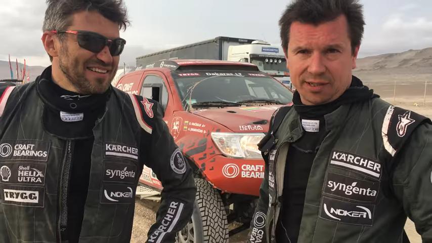 2018-ųjų Dakaro ralis. A. Juknevičius finišavo be galinių padangų