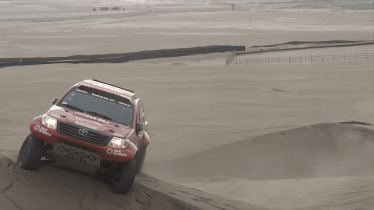 2018-ųjų Dakaro ralis. Pirmieji randai ant A.Juknevičiaus monstro
