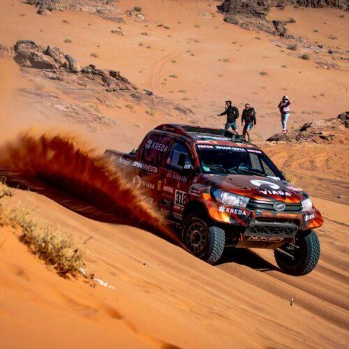 A. Juknevičius sėkmingai išlaikė ketvirtojo Dakaro ruožo kantrybės išbandymą