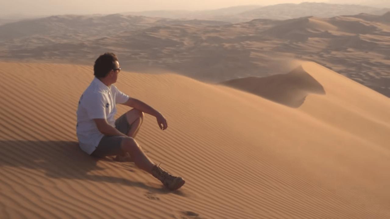 Antanas Juknevičius @Abu Dhabi Desert Challenge 2018