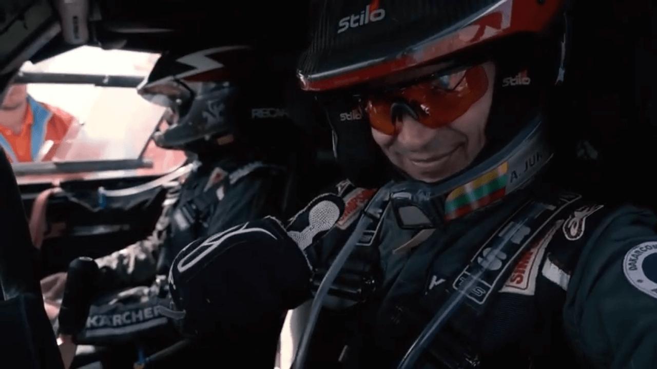 """""""CRAFT Bearings"""" komanda FIA """"Cross-Country"""" pasaulio čempionate Kazachstane"""