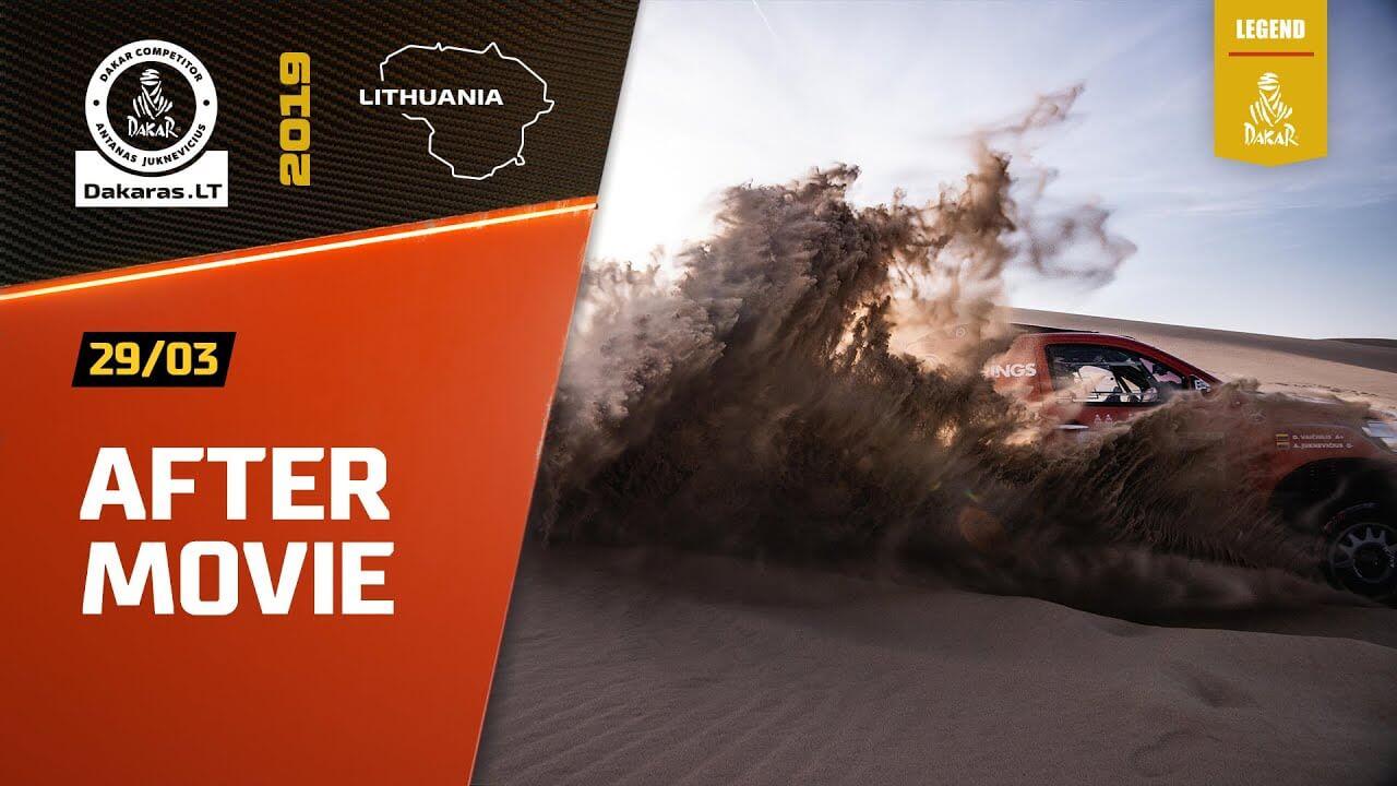 Dakar Rally 2019. Antanas Juknevicius Aftermovie