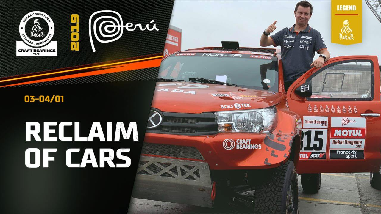 Dakar Rally 2019. Arrival to Peru, Picking Up the Car and 1st Bivouac