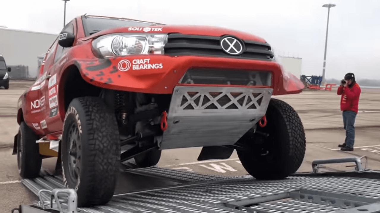 Dakar Rally 2019. Technical checks in Le Havre